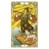 Kép 2/5 - Mini Golden Art Nouveau Tarot