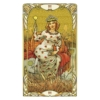 Kép 3/5 - Mini Golden Art Nouveau Tarot