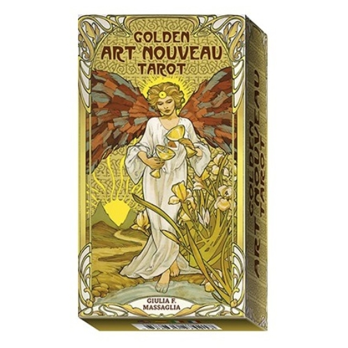 Golden Art Nouveau Tarot