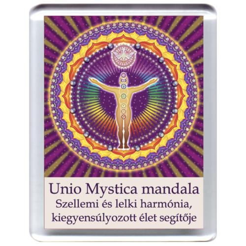 UnioMystica - Misztikus Egység mandala - hűtőmágnes 5x7cm