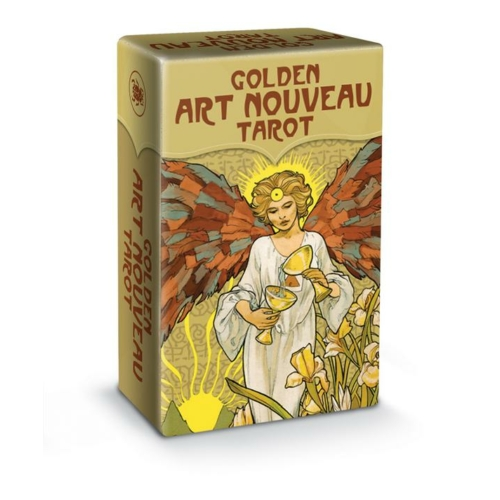 Mini Golden Art Nouveau Tarot