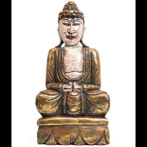 Buddha szobor 27x50 cm (Csak bolti átvételre!)