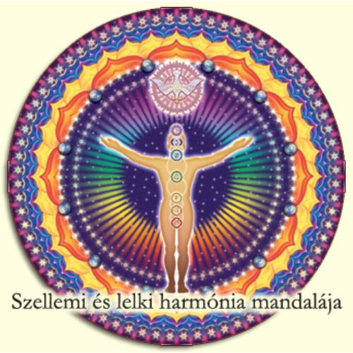 Kiegyensúlyozott élet, szellemi harmónia mandalája  Unio Mystica - Misztikus Egység