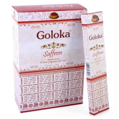Goloka Saffron füstölő